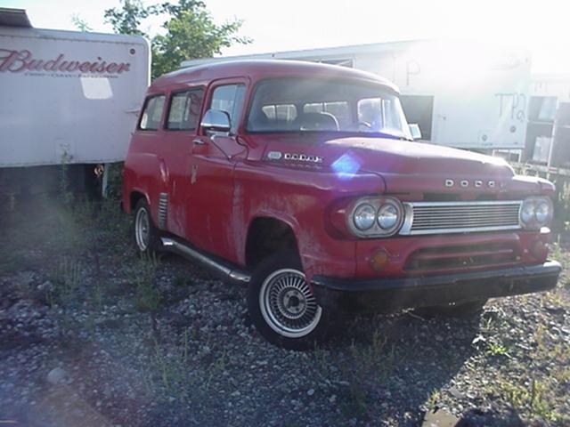 1958 Dodge PowerWagon
